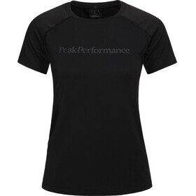 Peak Performance Gallos Co2 - T-shirt manches courtes Femme - noir